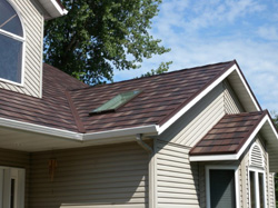 steel roofing installation